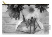 Daisy Crazy Bw Revisited Carry-all Pouch