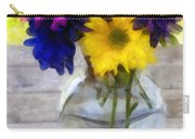 Daisy Crazy Revisited Carry-all Pouch