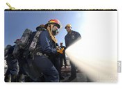 Damage Controlmen Conduct Fire Hose Carry-all Pouch