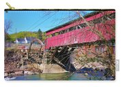 Damaged Covered Bridge Carry-all Pouch
