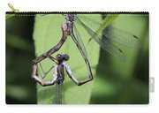 Damselfly Love Carry-all Pouch