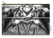 Dance Of The Black And White Calla Lilies Vi Carry-all Pouch