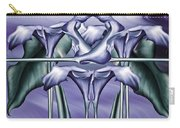 Dance Of The Blue Calla Lilies Iv Carry-all Pouch
