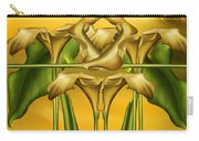 Dance Of The Yellow Calla Lilies II Carry-all Pouch
