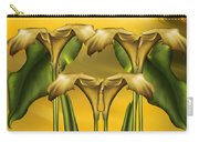 Dance Of The Yellow Calla Lilies Carry-all Pouch
