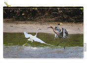 Dancing Egrets Carry-all Pouch