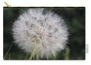 Dandelion Taraxacum Officinale Seed Carry-all Pouch