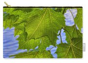 Dangling Leaves Carry-all Pouch by Deborah Benoit