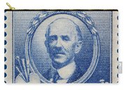 Daniel Chester French Postage Stamp Carry-all Pouch
