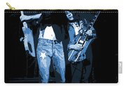 D J  And R D  Playing The Blues 1977 Carry-all Pouch