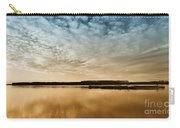 Danube River-sunset Carry-all Pouch