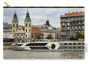 Danube Riverboat In Budapest Carry-all Pouch