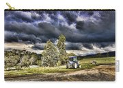 Dark Clouds Over The Farm Carry-all Pouch