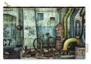 Dark Places Tell Stories Carry-all Pouch