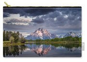 Darkening Skies Over Oxbow Bend Carry-all Pouch