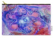 Darkness In The Mind Carry-all Pouch by Deborah Benoit
