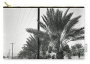 Date Palms On A Country Road Carry-all Pouch