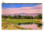 Dawn On The Golf Course Carry-all Pouch