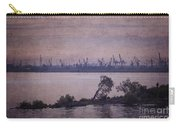 Dawn On The River Neva In Russia Carry-all Pouch