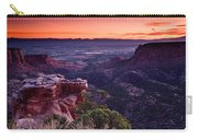 Dawn Over Fruita Carry-all Pouch