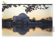 Dawn Over Jefferson Memorial Carry-all Pouch