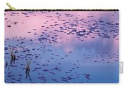 Dawn Sky Reflected In Pool Carry-all Pouch