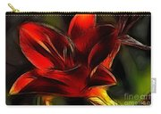 Day Lily Fractal Carry-all Pouch