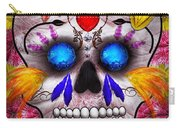 Day Of The Dead - Death Mask Carry-all Pouch
