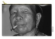 Dayak Woman Carry-all Pouch