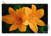 Daylily Duo Carry-all Pouch