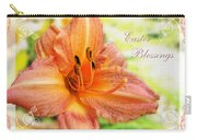 Daylily Greeting Card Easter Carry-all Pouch