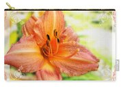 Daylily Greeting Dard Blank Carry-all Pouch
