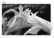 Daylily Study In Bw IIi Carry-all Pouch