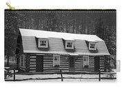 Days Of Yore Log Cabin Carry-all Pouch