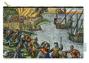 De Bry: Chicora, 1590 Carry-all Pouch