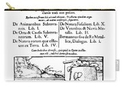 De Re Metallica, Title Page, 16th Carry-all Pouch by Science Source