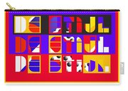 De Stijl Carry-all Pouch