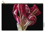 Dead Dried Tulip Carry-all Pouch