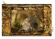 Dead Rosebud Triptych Carry-all Pouch