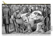 Death Of Garfield, 1881 Carry-all Pouch