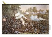 Death Of N. Lyon, 1861 Carry-all Pouch
