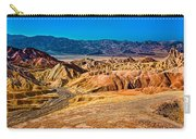 Death Valley From Zabriskie Point Carry-all Pouch