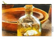 Decanter Of Oil Carry-all Pouch by Susan Savad
