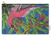 December Berries Carry-all Pouch
