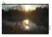December Sunrise Off Smooth Water Carry-all Pouch