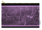 Declaration Of Independence In Pink Carry-all Pouch