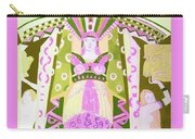 Deco Ladies Frostwork And Iris Carry-all Pouch