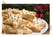 Decorated Christmas Cookies In Festive Setting Carry-all Pouch