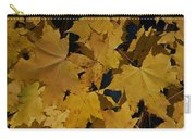 Deep Leaves Carry-all Pouch