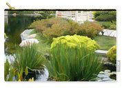 Deep Panorama Of Japanese Garden And Koi Carry-all Pouch